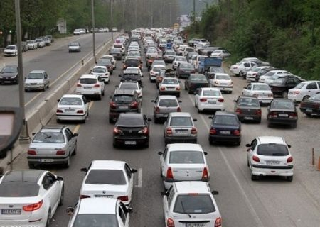 وضعیت جاده ها ۳ تیر/ تردد روان در محورهای هراز، چالوس و فیروزکوه