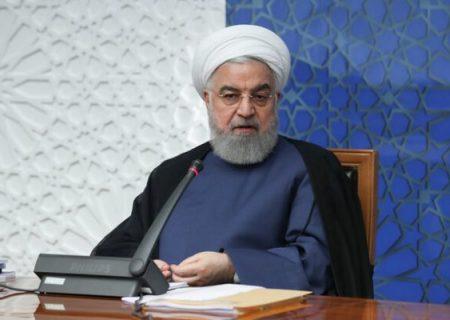 روحانی: دولت کار خود را نسبت به رفع تحریمها انجام داده است/ انجام گازرسانی در ۹۵درصد کشور