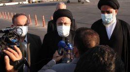 رییس جمهوری اسلامی ایران وارد تهران شد