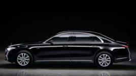 امن ترین خودروی دنیا/مرسدس بنز S680 گارد ۱۲ سیلندر