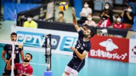 عکس  تقدیر از والیبالیستهای کشورمان در ژاپن