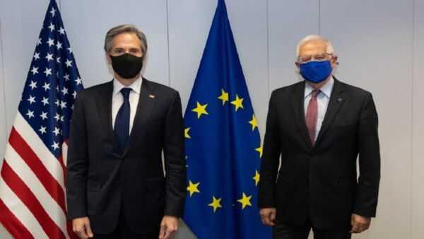 گفتگوی وزرای خارجه آمریکا و اتحادیه اروپا درباره ایران و افغانستان